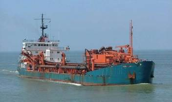 This hopper dredger was inspected for valuation purposes