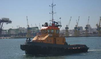 This Damen Stan Tug 2207 was inspected for marketing purposes