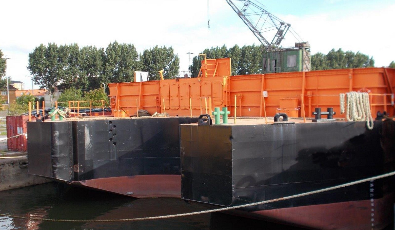 Tug and Barge combination with 72 mtrs dimension