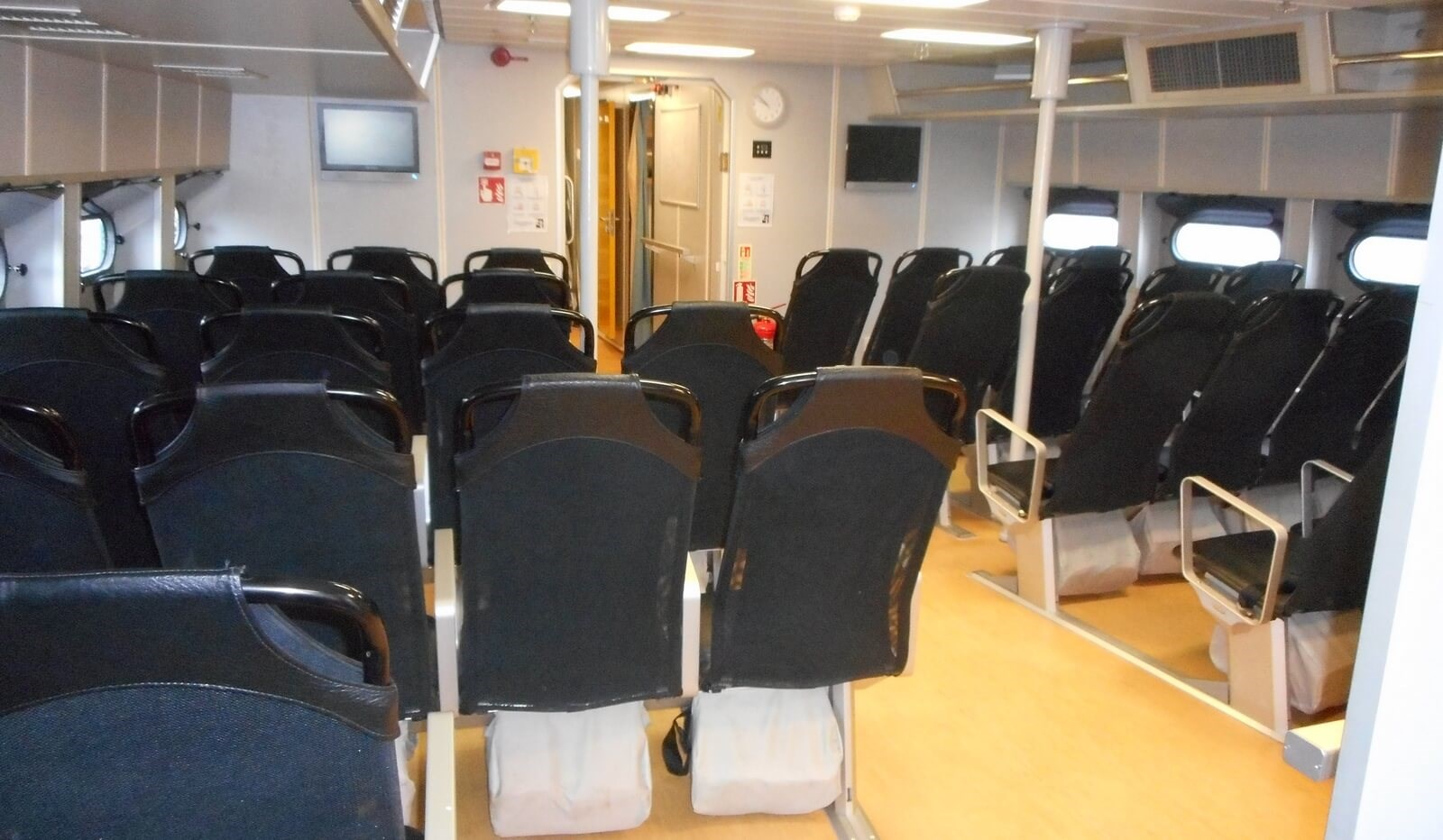 Passenger area for 34 on board Damen Fast Crew Supplier