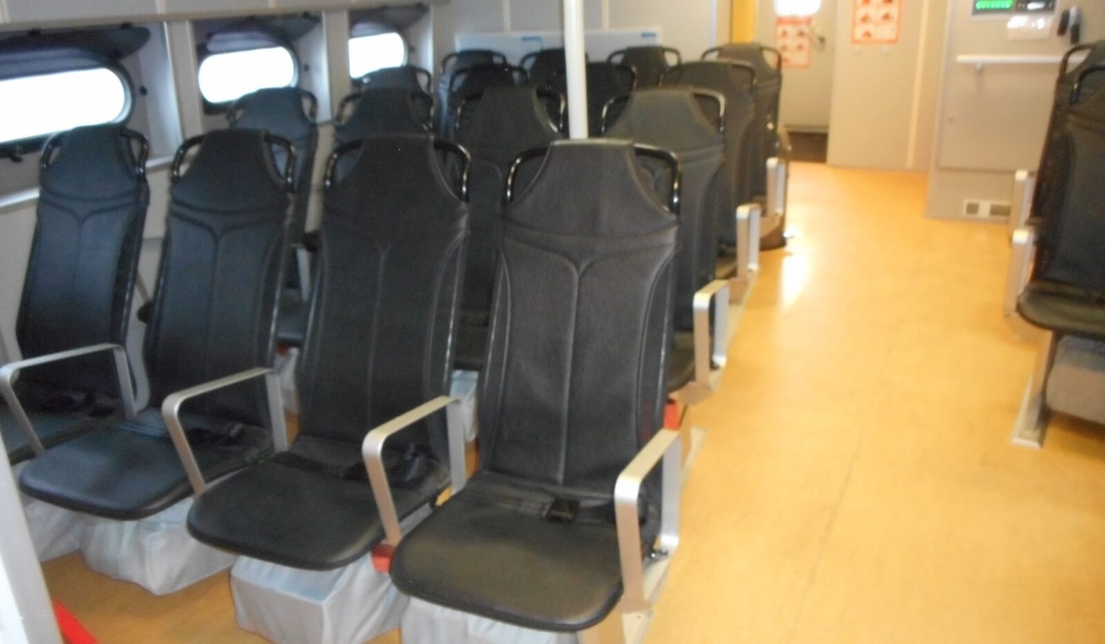 Seats for 34 passengers on used Damen Fast Crew Supplier