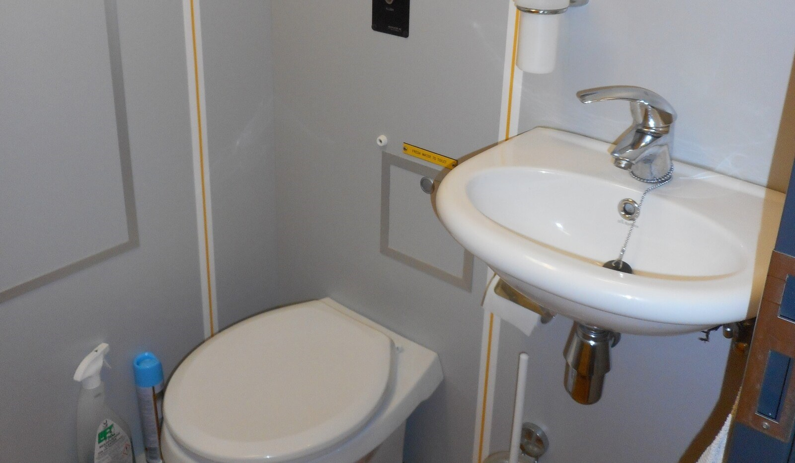 Sanitary facility on board of Damen FCS 3307