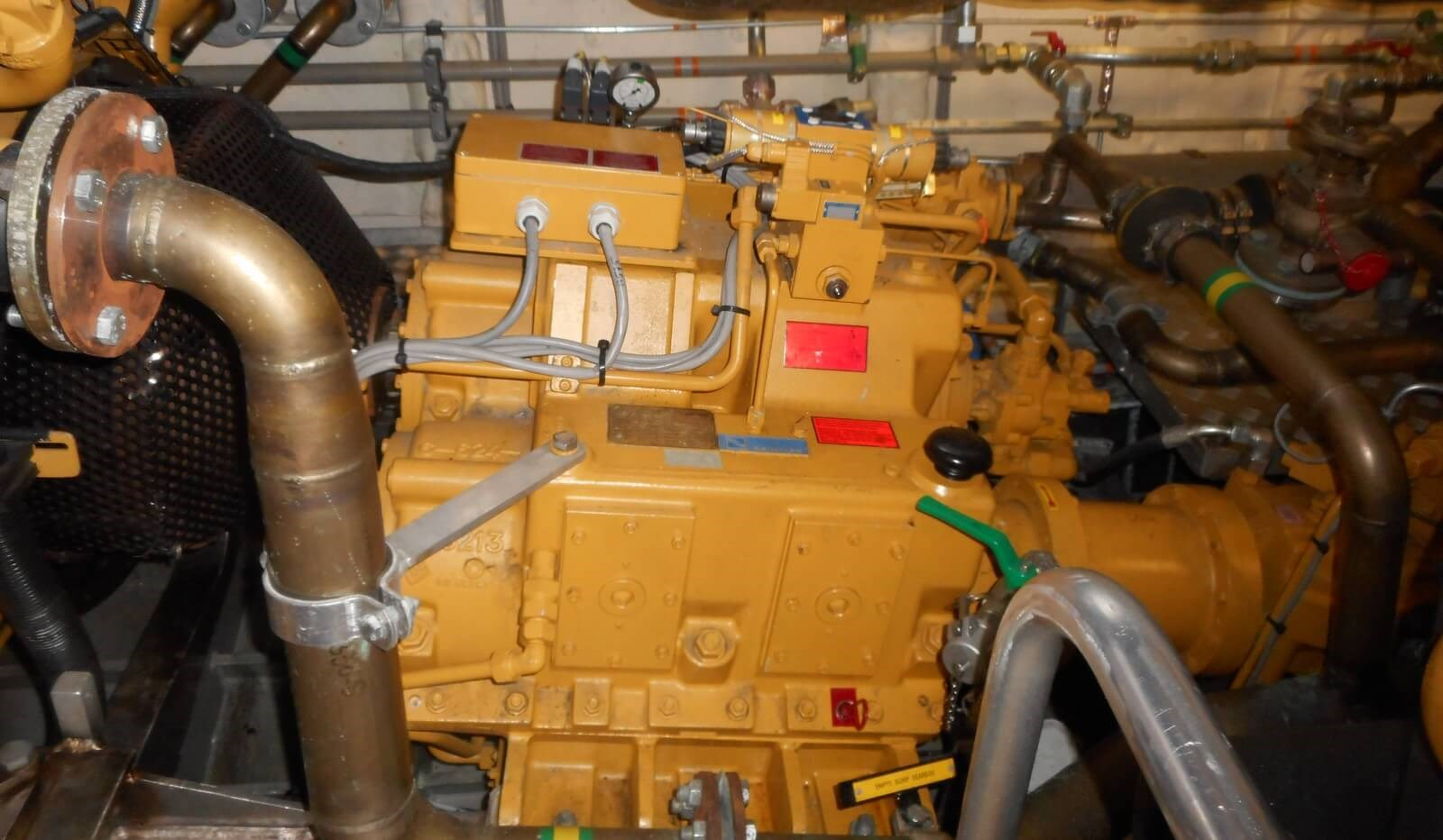 Reintjes gearbox on board of Damen Fast Crew Supplier vessel