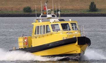 Used but as-new multipurpose crew-pilot boat is available for sale