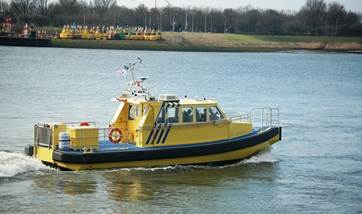 Used but as-new crew-pilot vessel