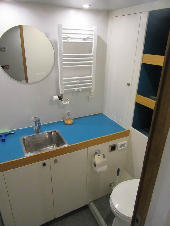 Crew sanitary facilities