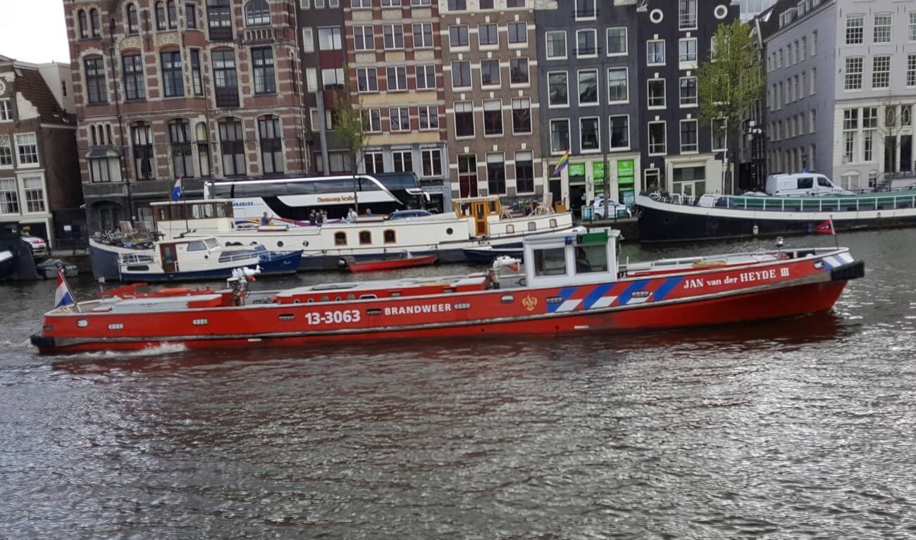 Trade-In FiFi vessel Jan van der Heyde