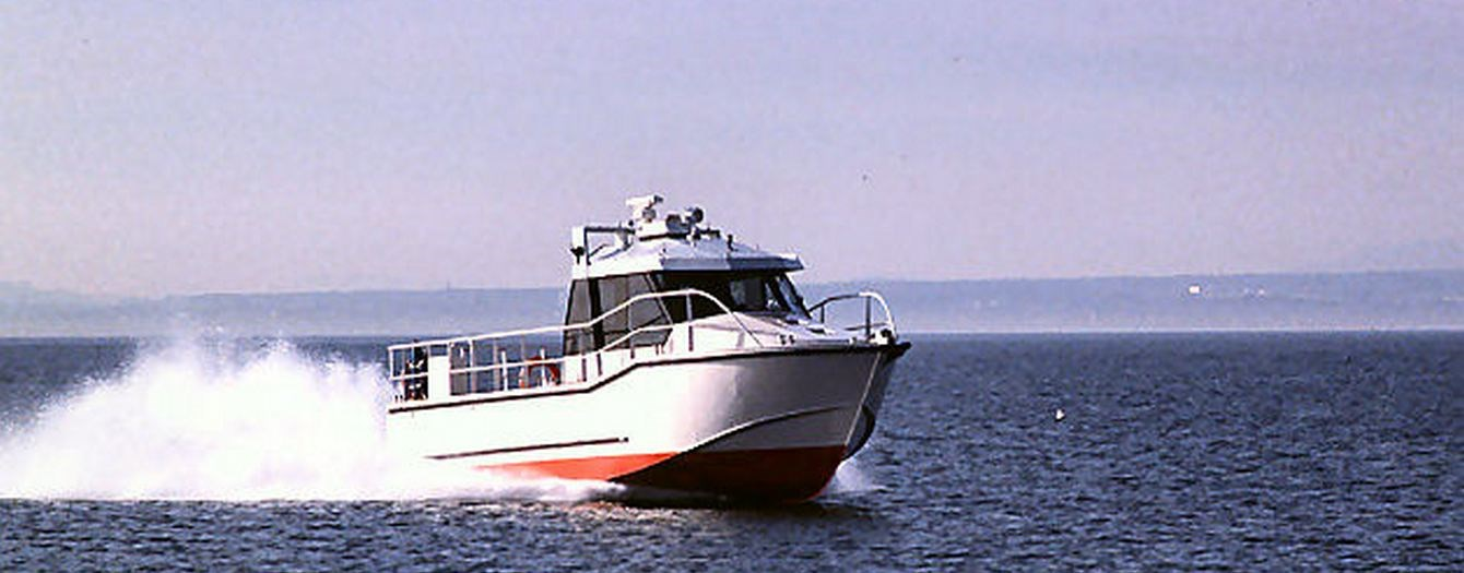 Second hand Fast patrol boat for Sale for patrol services in shallow