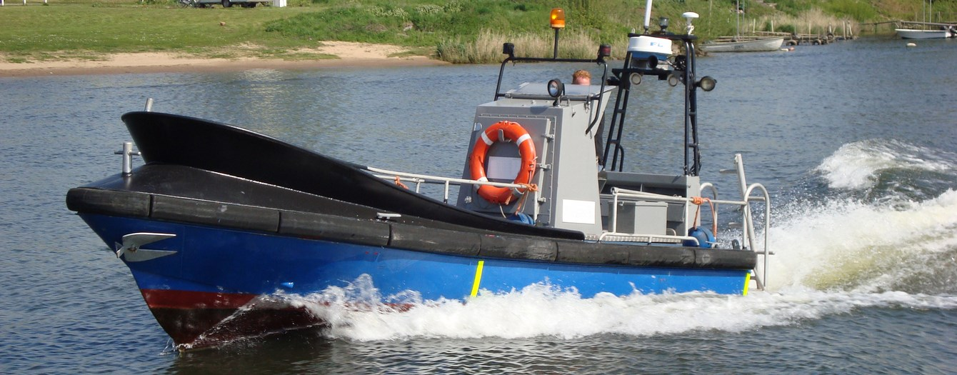 Used patrol/survey boat