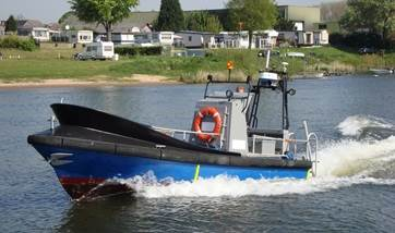 Used patrol/survey boat for sale