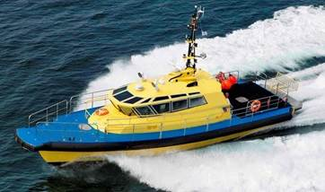 MCA Workboat/pilot boat is reported to be in excellent condition.