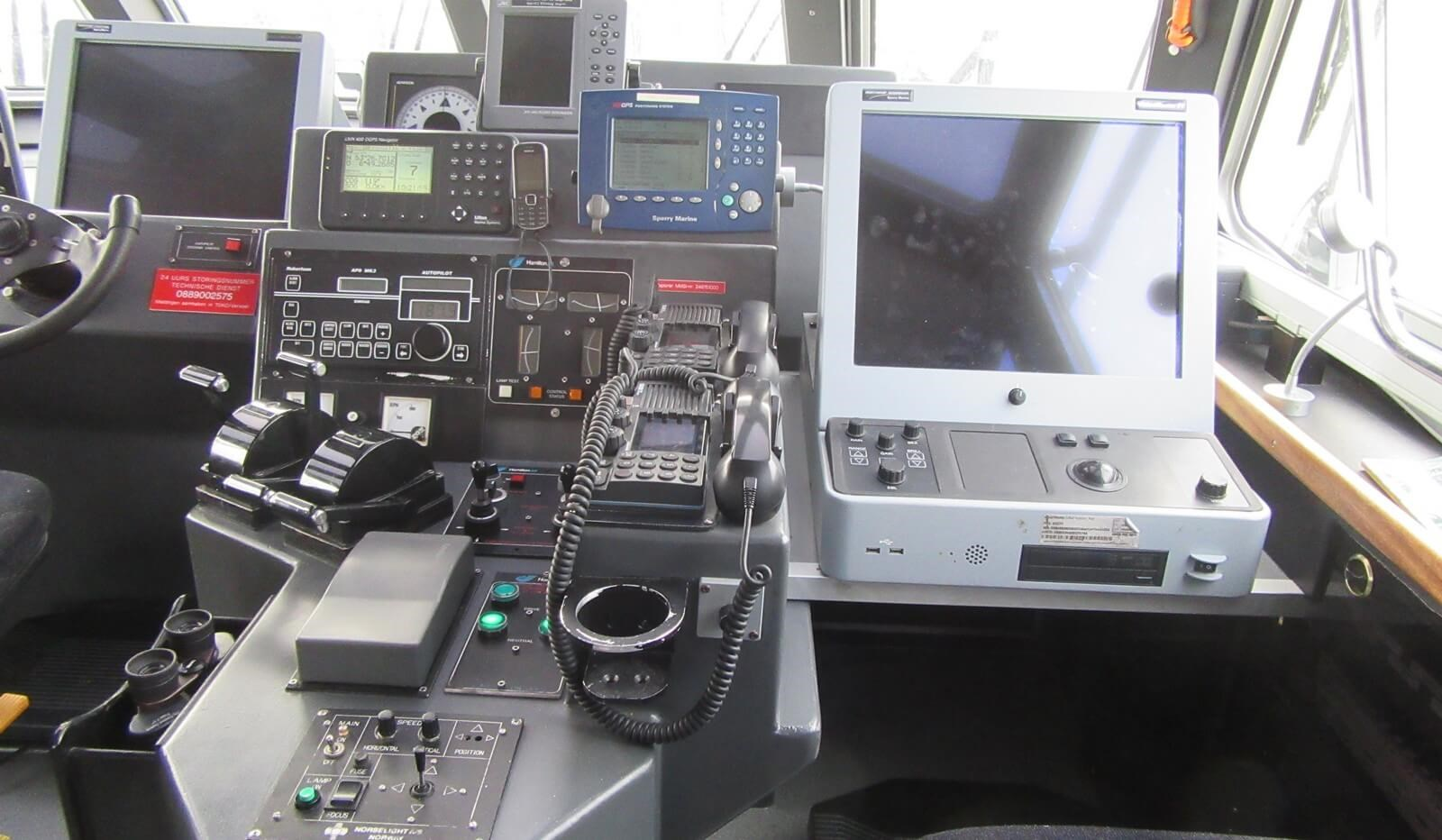 Used Pilot/Crew Tender dashboard