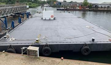 used pontoon barge 07568 (2)