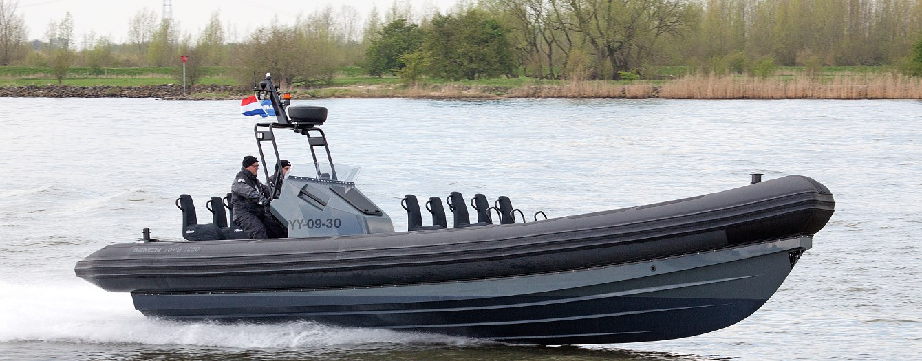 Used Damen RHIB 1050 with Inboard engines for sale