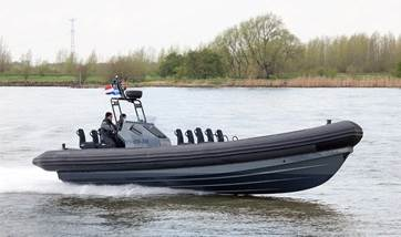 2-nd hand Damen RHIB 1050 with Inboard engines for sale