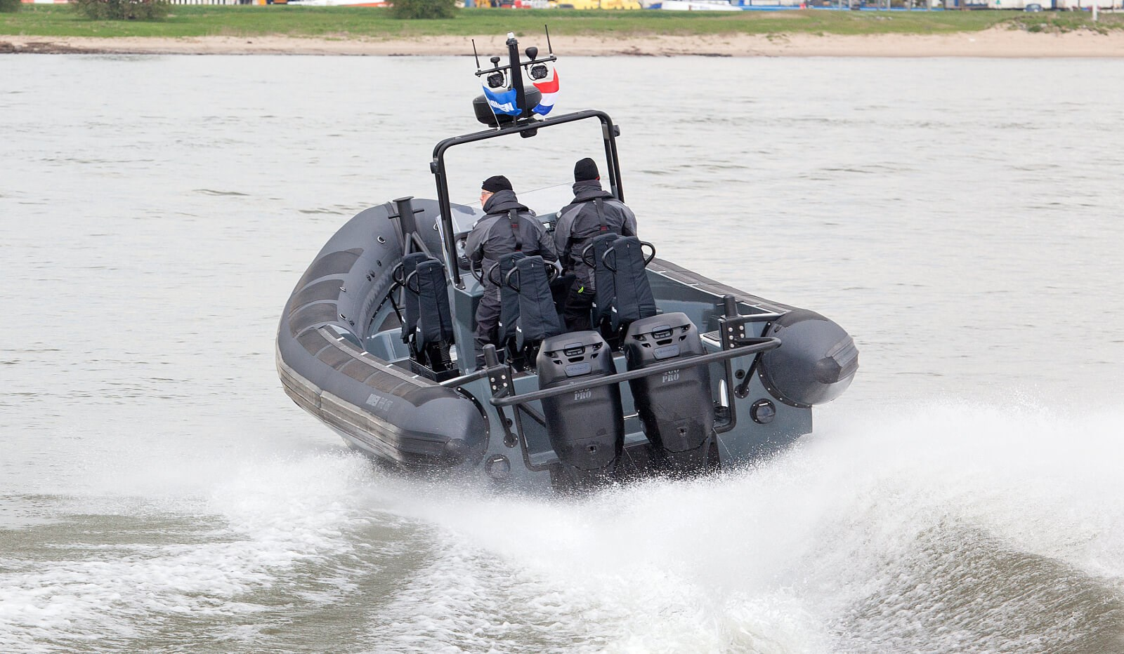 Used Damen RHIB 1050 - outboard for sale