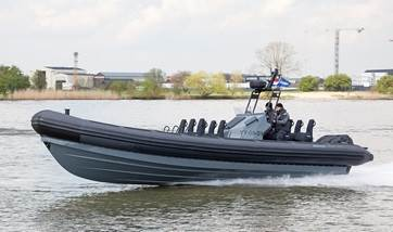 2-nd hand Damen RHIB 1050 with outboard engines for sale