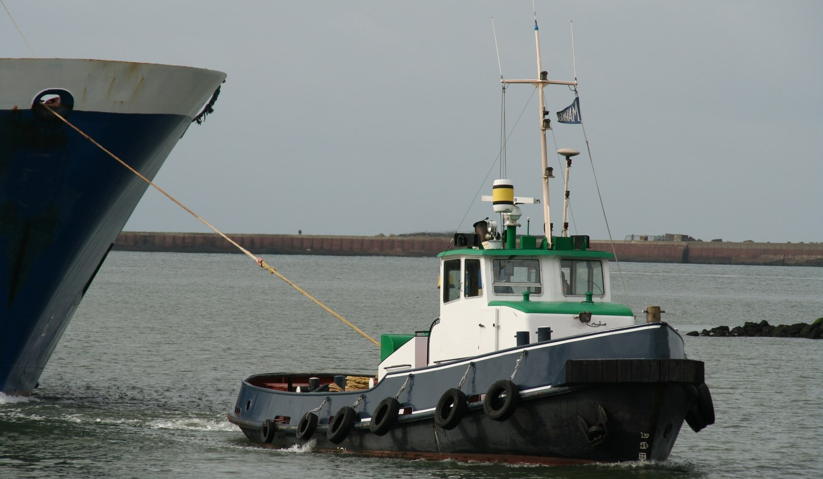 Used Tugboat for Sale for harbour and coastal services