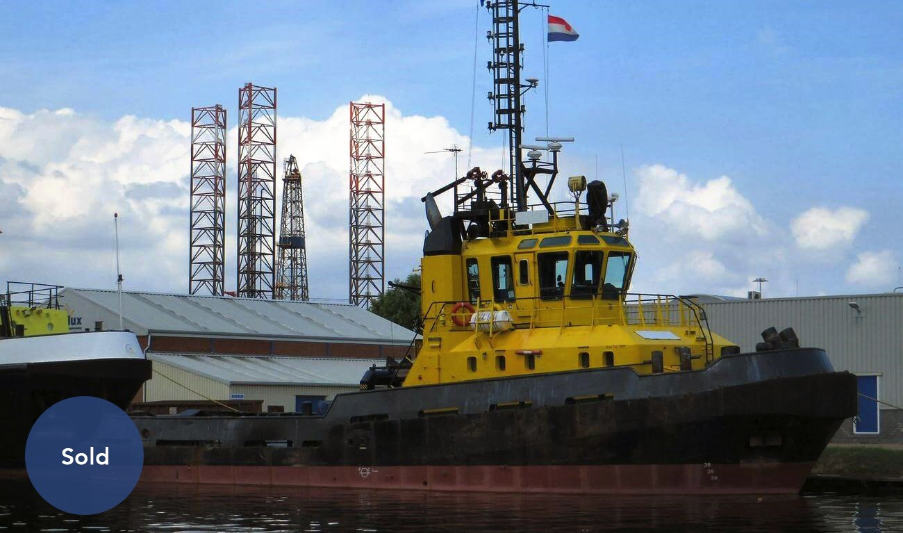 Second hand DAMEN Stan Tug 2909 is sold