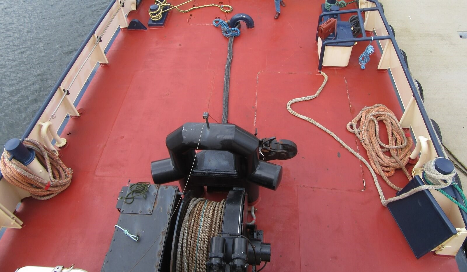 Aft deck overview
