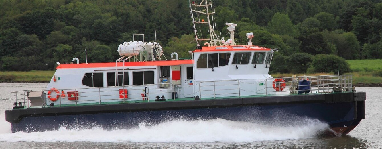 06630 Windfarm Support Passenger Catamaran