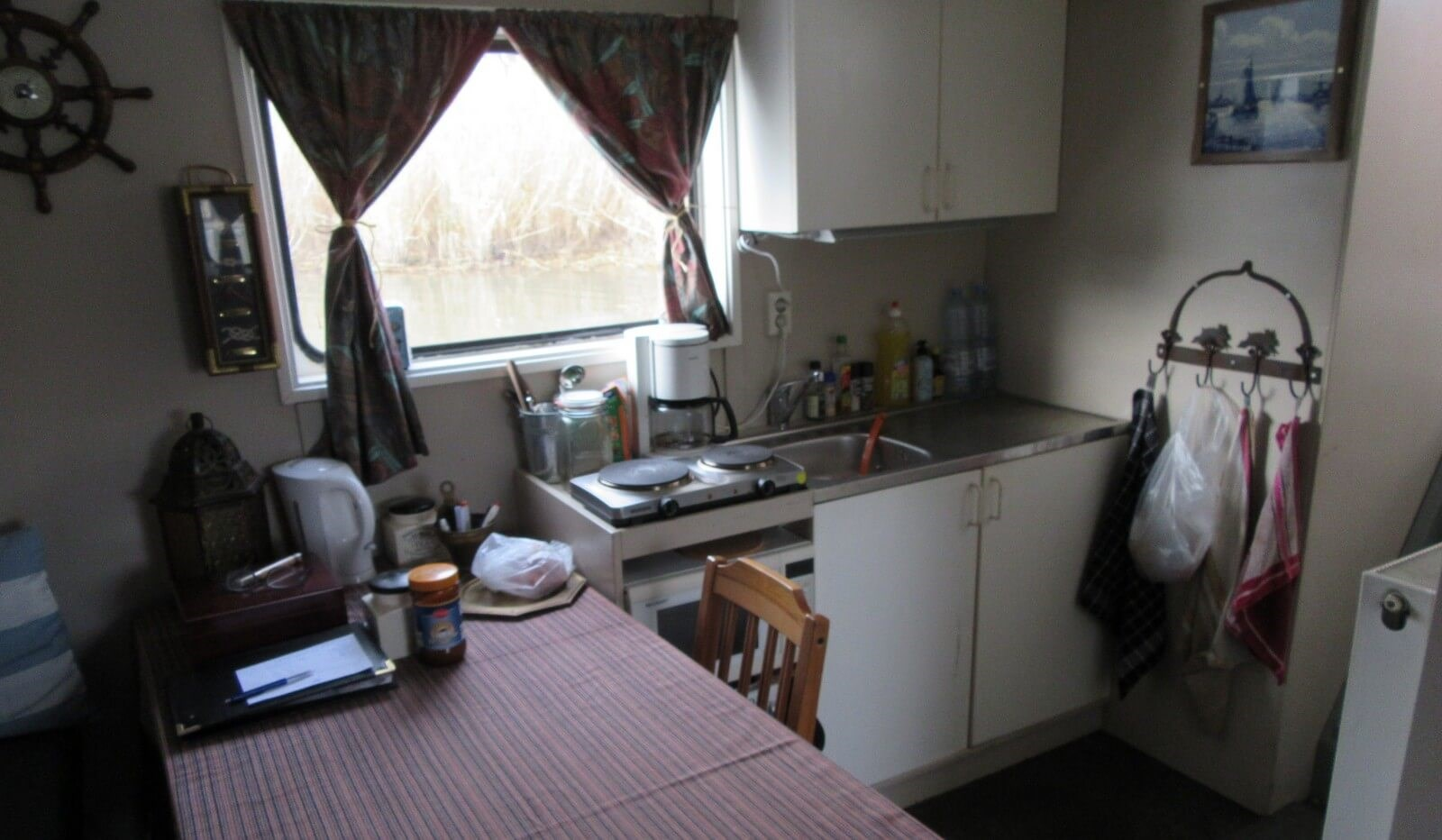 Kitchenette in day room