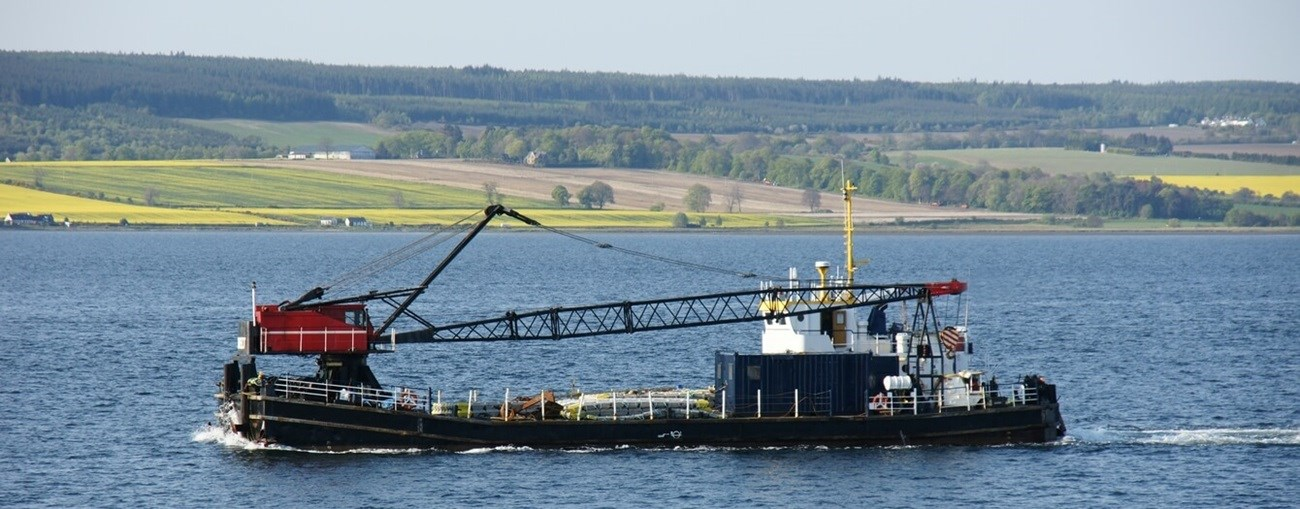 second hand barge is available for sale by damen trading