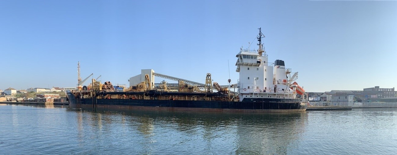 second hand dredger is available for sale by damen trading