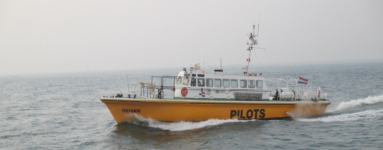 second hand pilot vessel is available for sale by damen trading