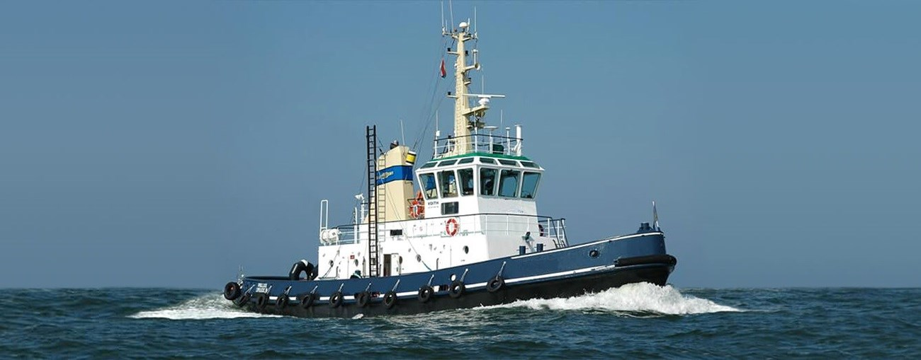 second hand tug is available for sale by damen trading
