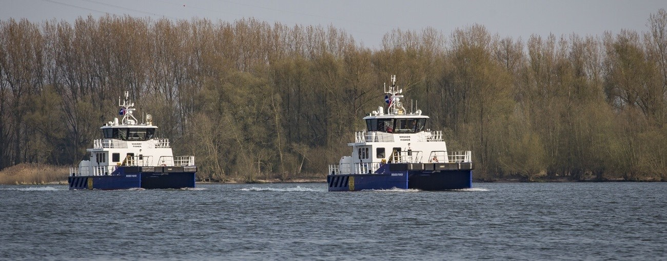 Buy or sell your vessels with Damen Trading