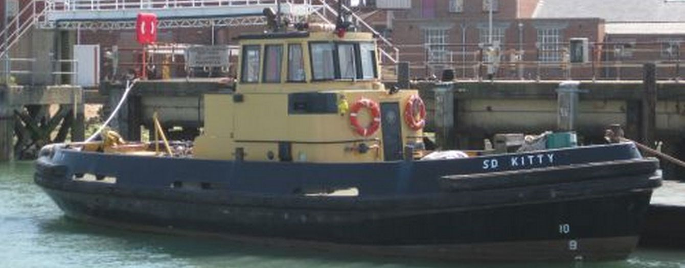 "The tugboat 'SD Kitty' was sold from U.K. owner ""Serco"" to U.K. operator on 26-05-2010."