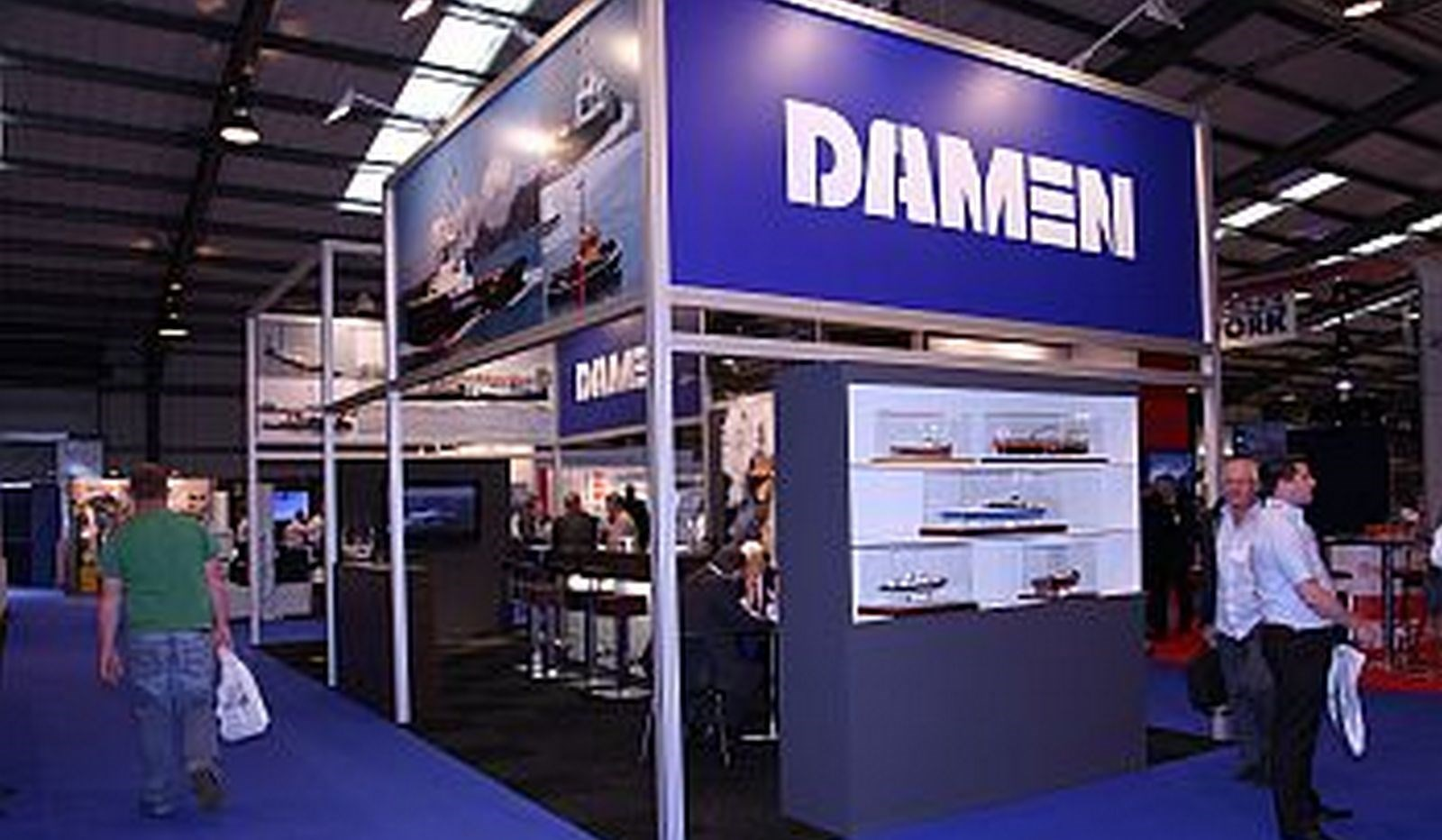 The Seawork exhibition in Southampton U.K. this year was again a great success.