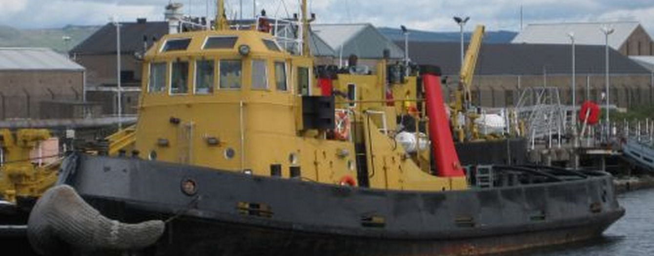 The tugboat 'SD Spaniel' has been sold from owner Serco to Scottish owner on 23-08-2010.
