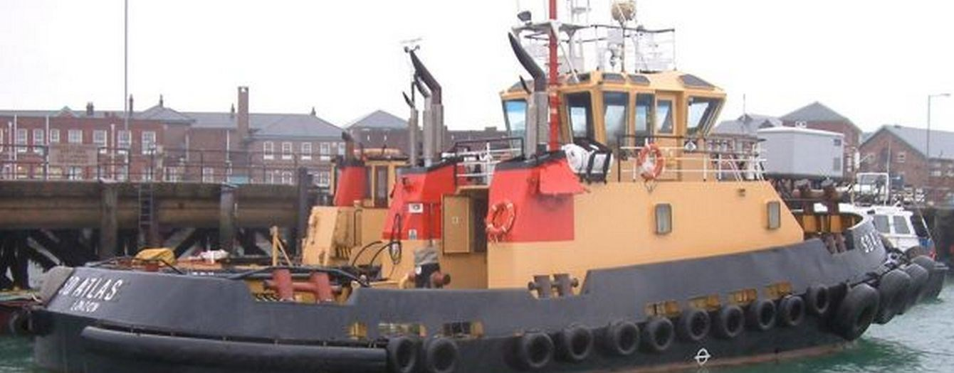 The tugboat 'SD Atlas' has been sold from owner Serco to U.K. owner on 14-09-2010.