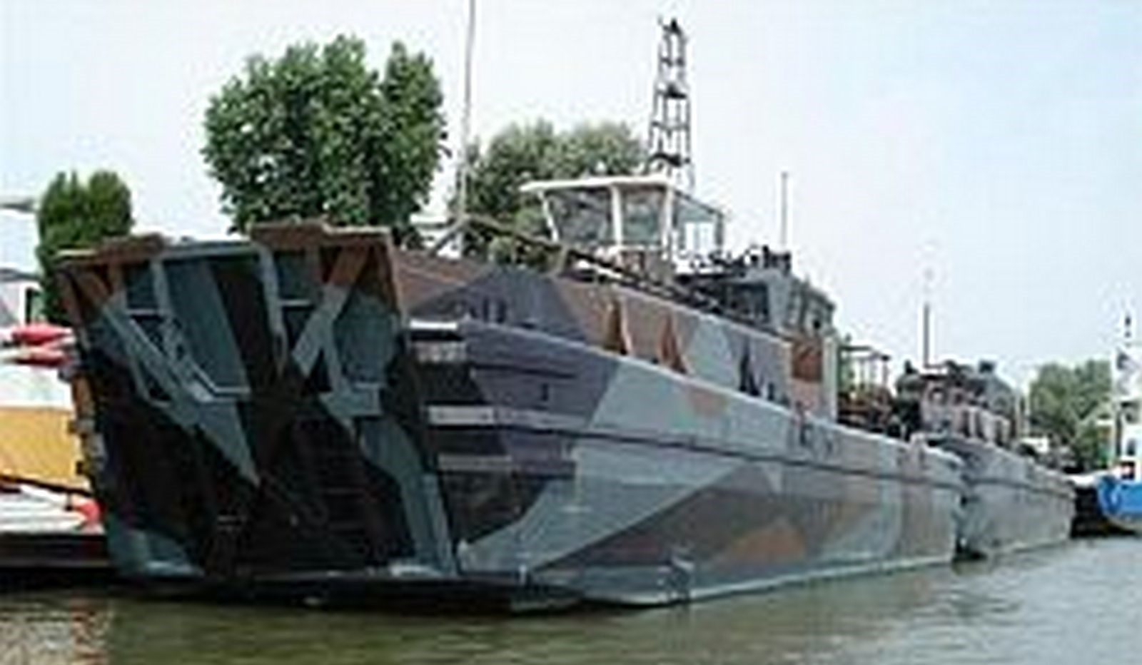 On the 24th of January 2011 the landing craft with 16,90 mtrs length, built in 1988 was sold from a Dutch owner to the new owner in Scotland.