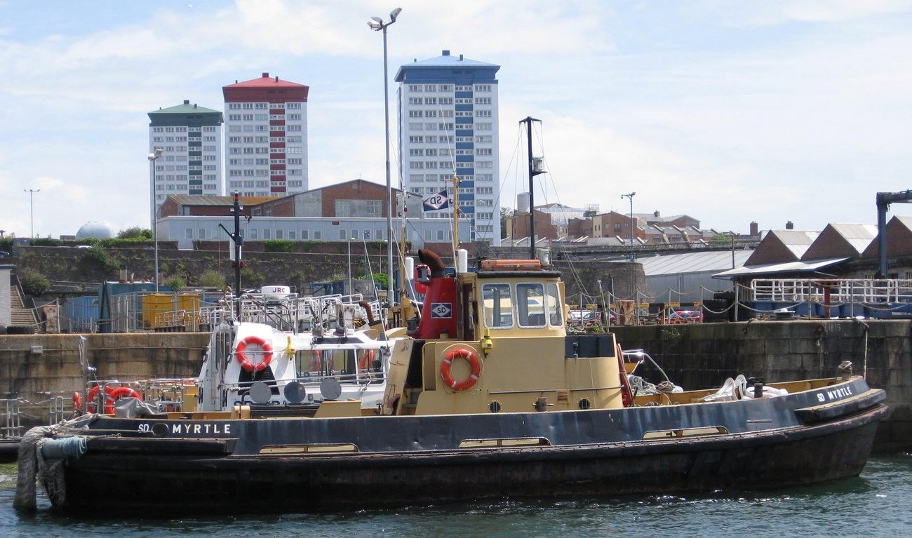 Sale Voith Schneider tugboat 'SD Myrtle'