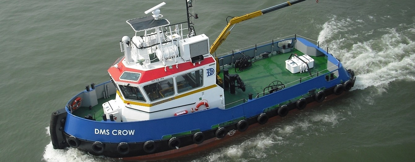 On 4 November the Stan Tug 1606 'DMS Crow' was sold.