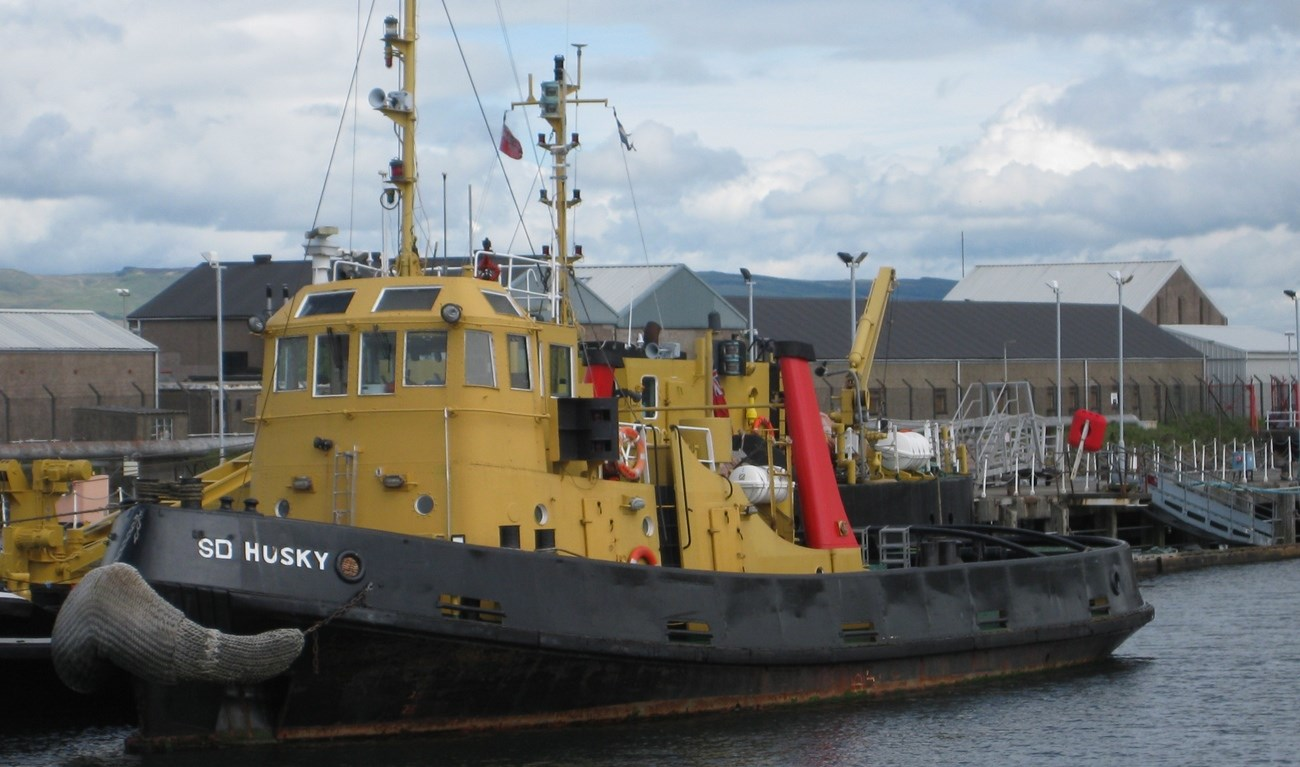 Sale tugboats 'SD Sheepdog' and 'SD Husky'
