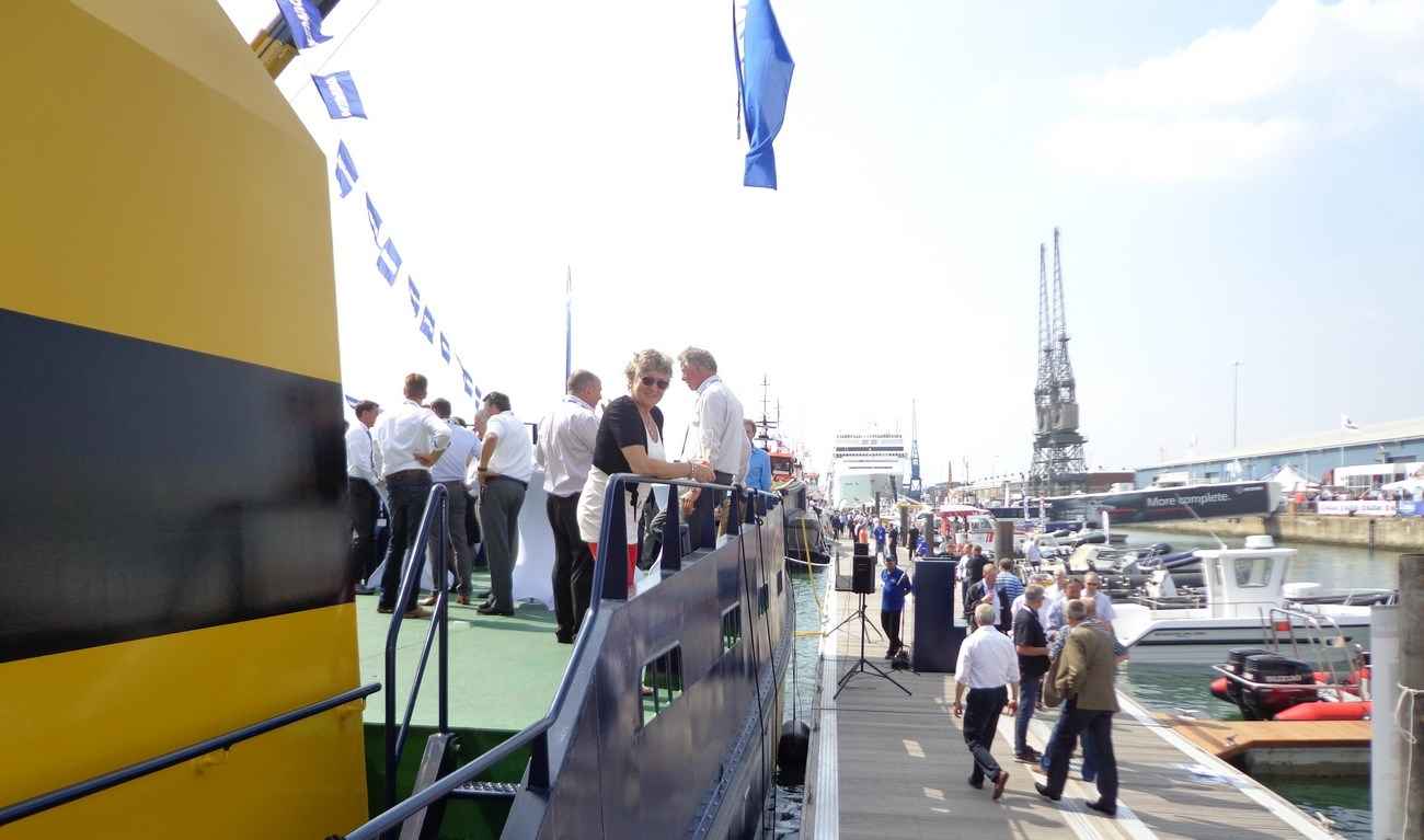 Seawork 2012 was a success, especially on Wednesday and Thursday it was really busy.