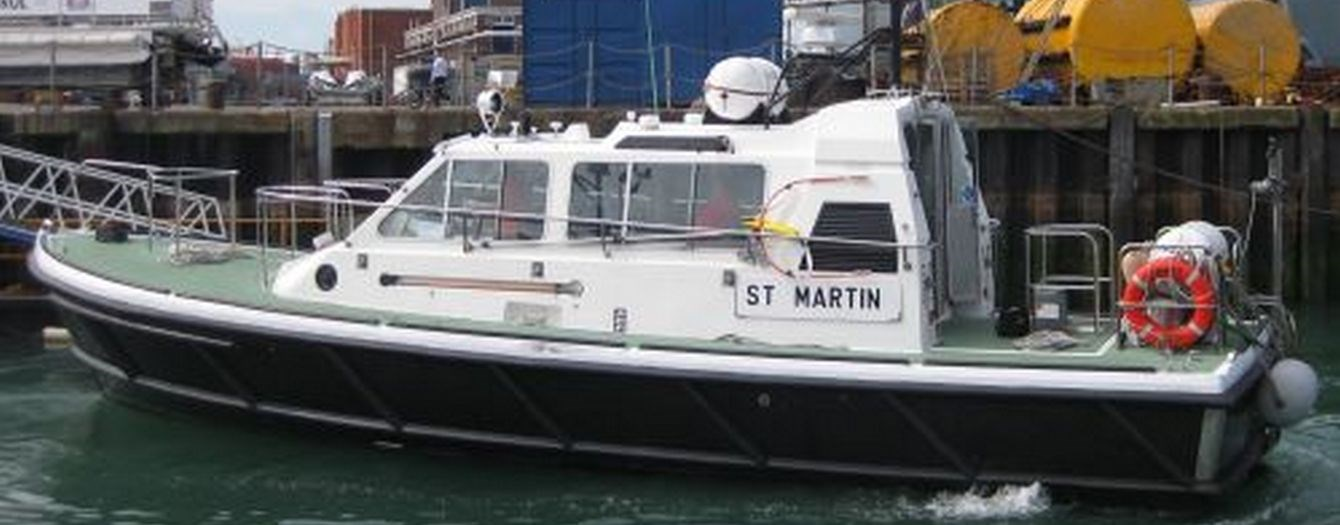 On 25 September the pilot launch 'SD St. Martin' was handed over from the owner Serco to a new U.K. owner.