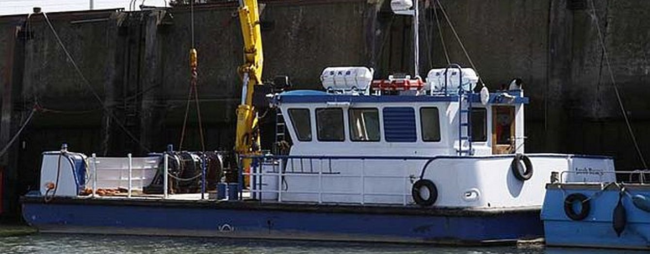 On the 10th of January 2013 transfer of ownership took place of the workboat 'Jacob Besage'.