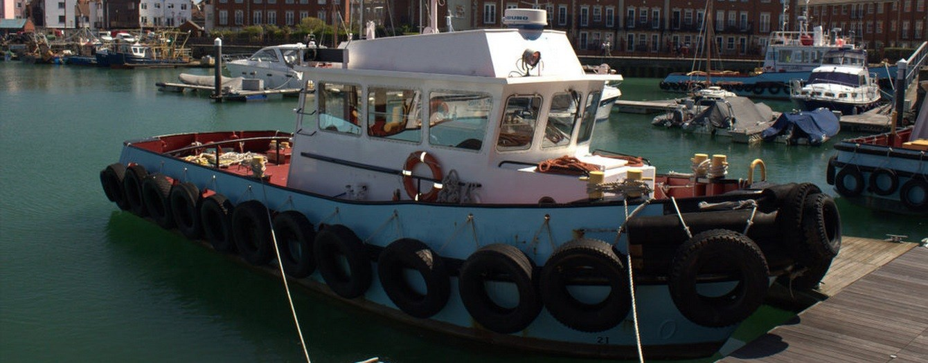 Today the tugboat 'Janet James' has been transferred from J. Butcher & Sons to the new English owners.