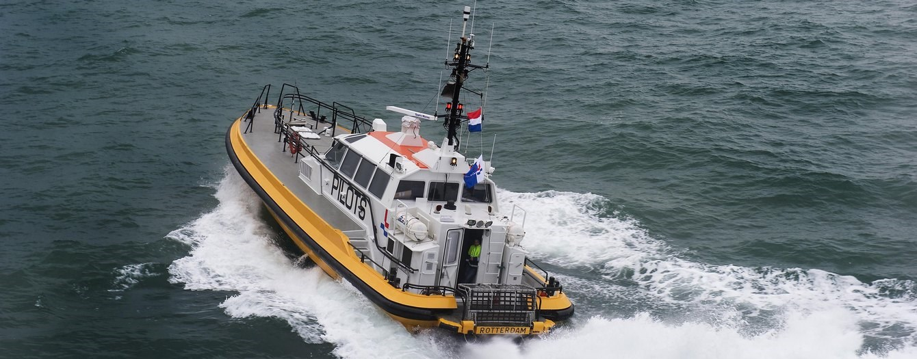 "Today the pilot vessel ""Columbia"" has been handed over from the Dutch Pilot Association to a new Dutch owner."