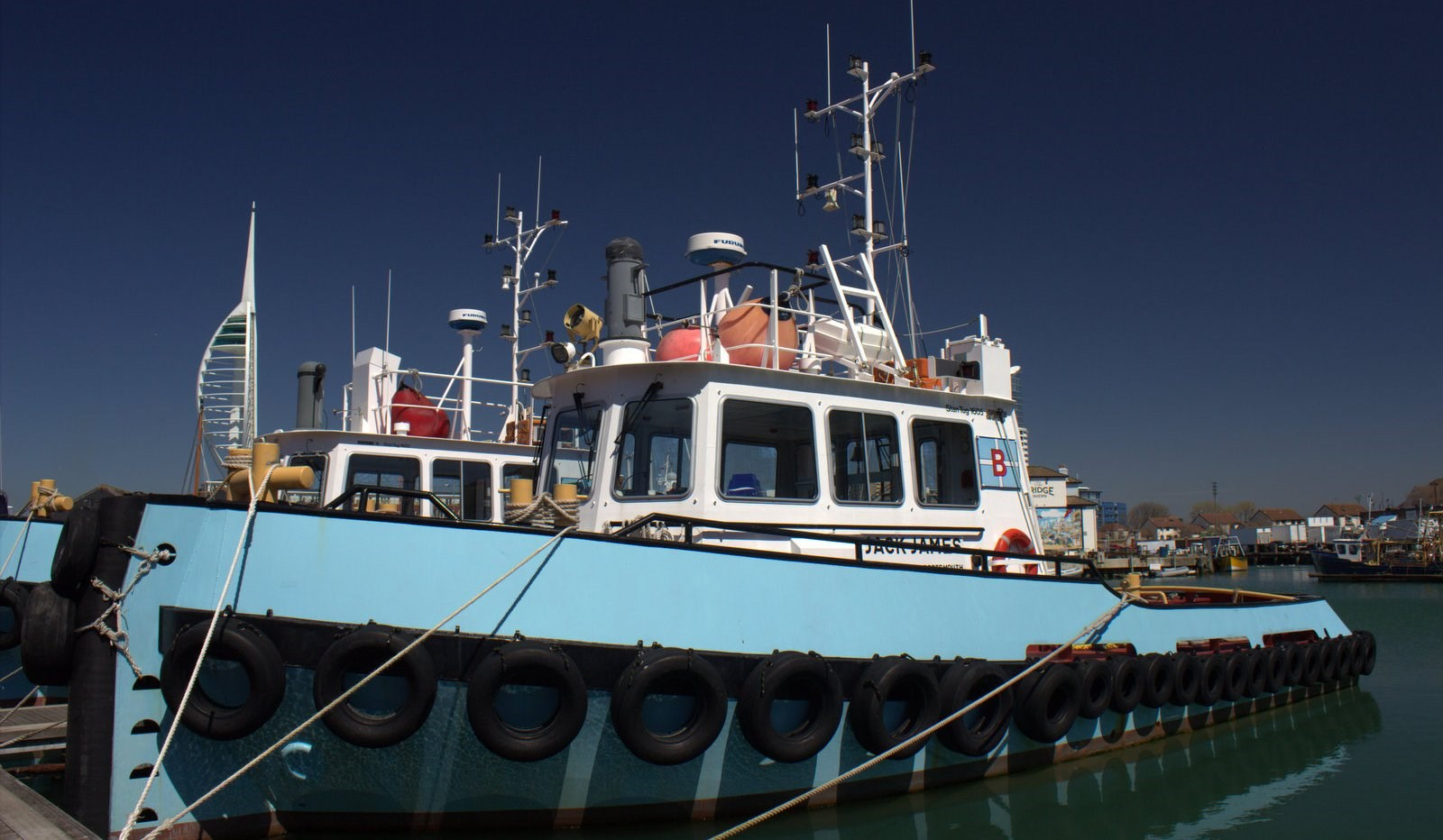 Earlier this year Damen Stan Tug 1605 Jack James, Sale Damen Stan Tug 1605 Jack James owned by Butcher & Sons