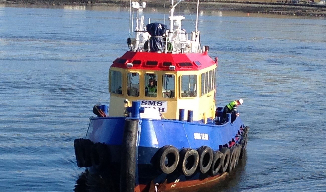 Today the DAMEN Stan Tug 1906 SMS Leah has been sold from Sinbad Marine Services Ireland to Coastworks Operations Ltd. in Scotland.