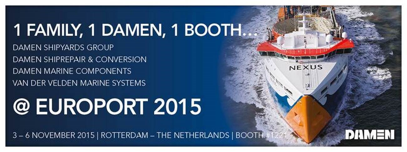 We will be present at the maritime exhibition Europort in Rotterdam, The Netherlands.