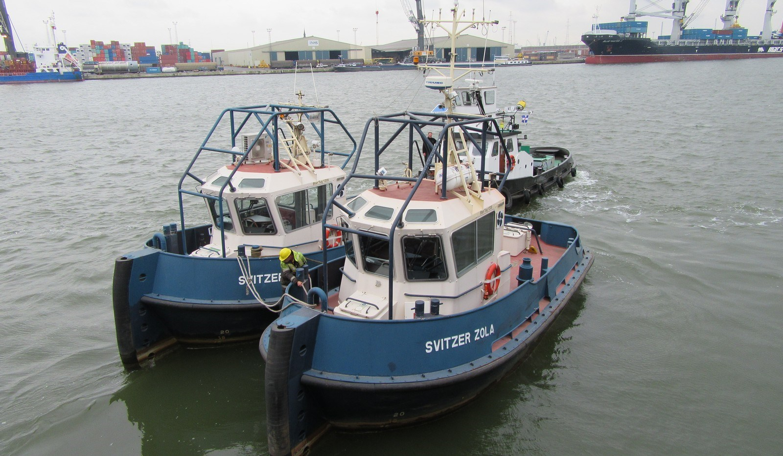 Both vessels have always been very well maintained and are in an excellent condition