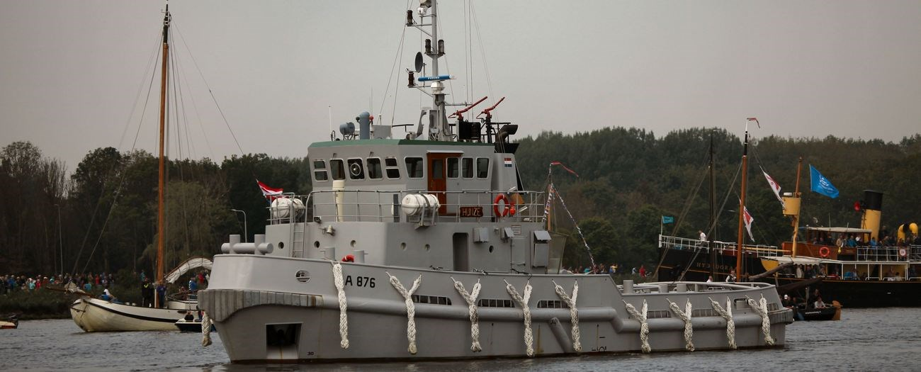 """Sale of used tugboat """"Rotte"""" - Ex Dutch Navy"""