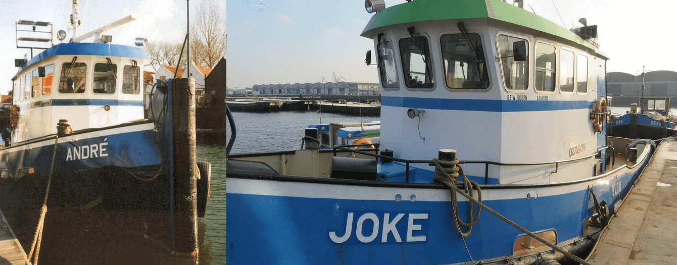 "The tugboat ""Joke"" was sold from Blom Holding B.V. to Sleepvaartbedrijf H.M. Cardol B.V. ""Joke"" (then known as ""André B"") was sold to Blom Holding B.V. back in 1999."